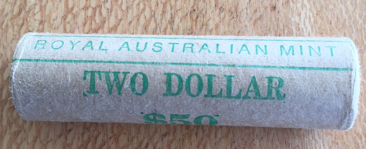 Thumbnail for 1988 Royal Australian $2 Mint Roll