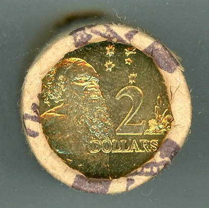 Thumbnail for 2002 Two Dollar Coin Roll