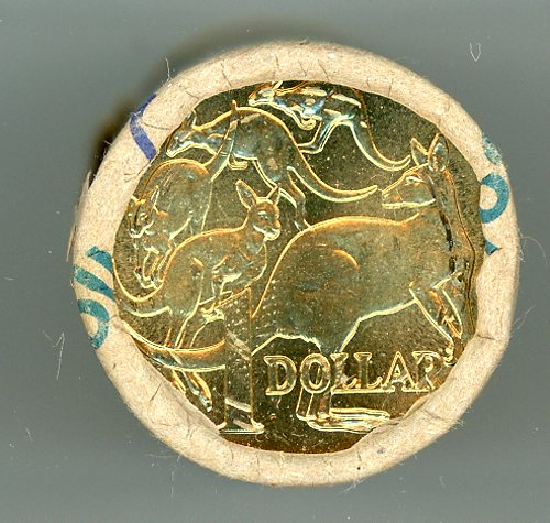 Thumbnail for 2005 One Dollar Coin Roll