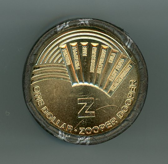 Thumbnail for 2019 $1.00 Roll of 20 Coins Aussie Alphabet