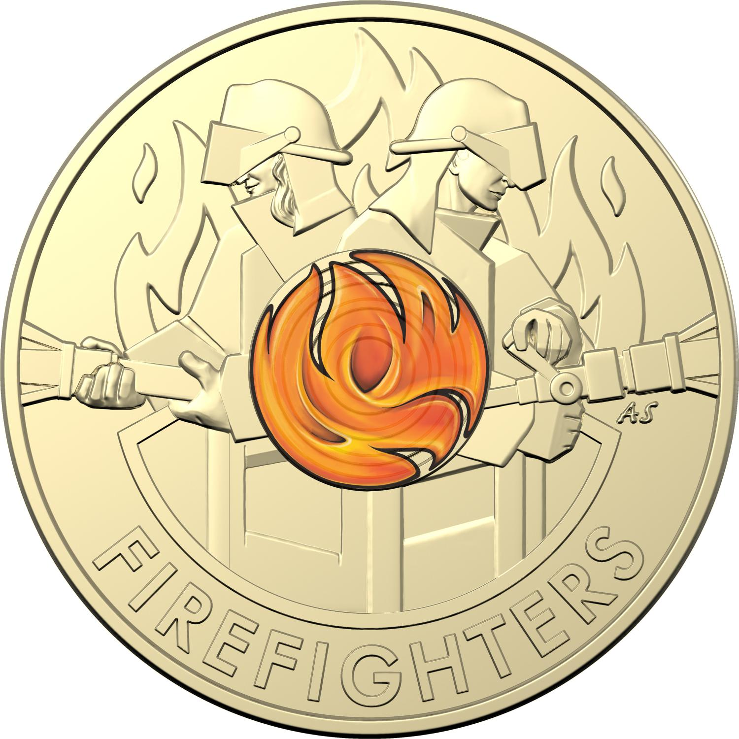 Thumbnail for 2020 $2 Coloured Circulating Coin Roll - Australian Firefighters - DELAYED SHIPPING MID NOVEMBER