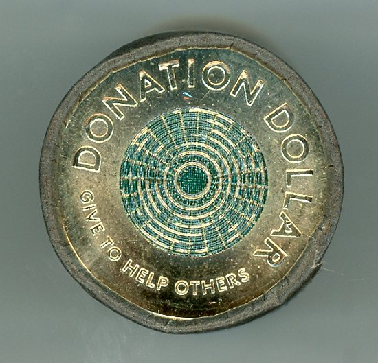 Thumbnail for 2020 $1 Roll of 20 Coins - Donation Coin UNC