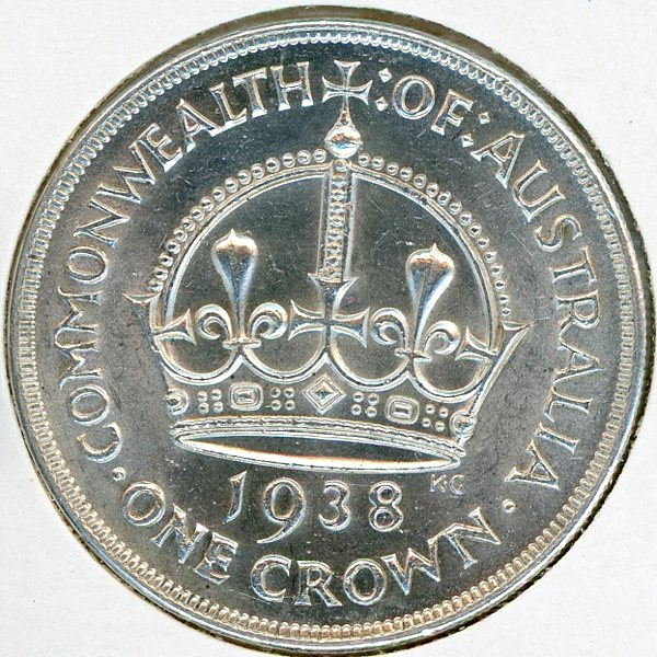 Thumbnail for 1938 Australian Crown gEF