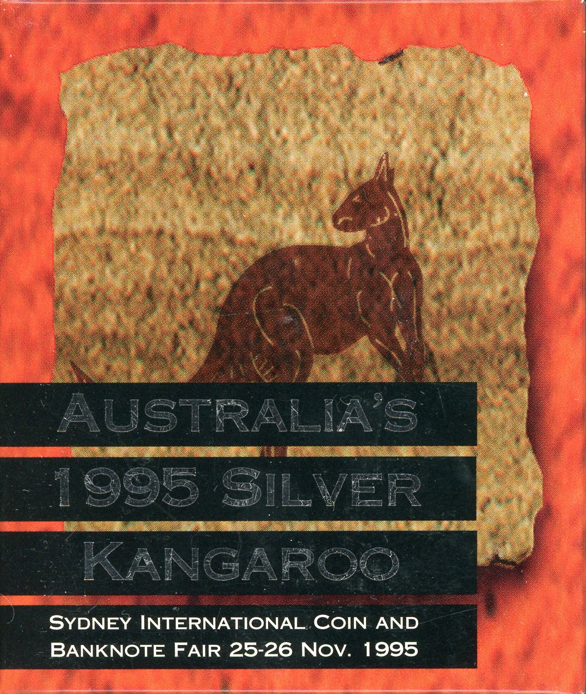 Thumbnail for 1995 $1 Kangaroo 1oz Silver Proof Coin - Sydney International Coin Fair