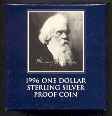 Thumbnail for 1996 Australian Silver Proof Coin - Henry Parkes