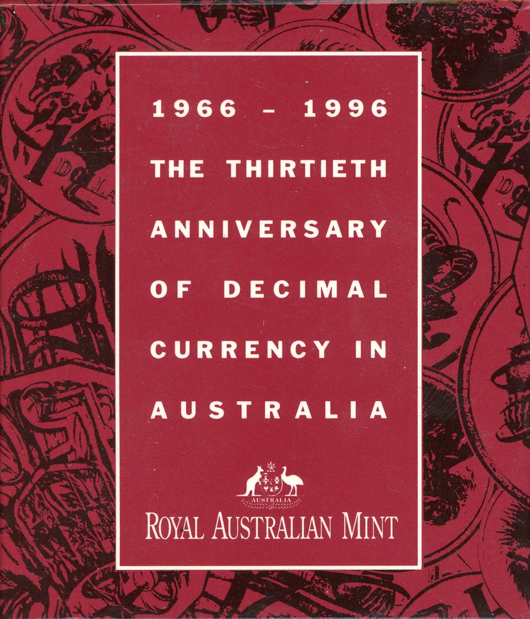 Thumbnail for 1996 Subscription Silver Proof Dollar - 30th Anniversary of Decimal Currency
