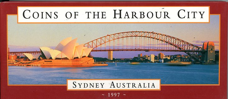 Thumbnail for 1997 Two Coin Set - Coins of the Harbour City