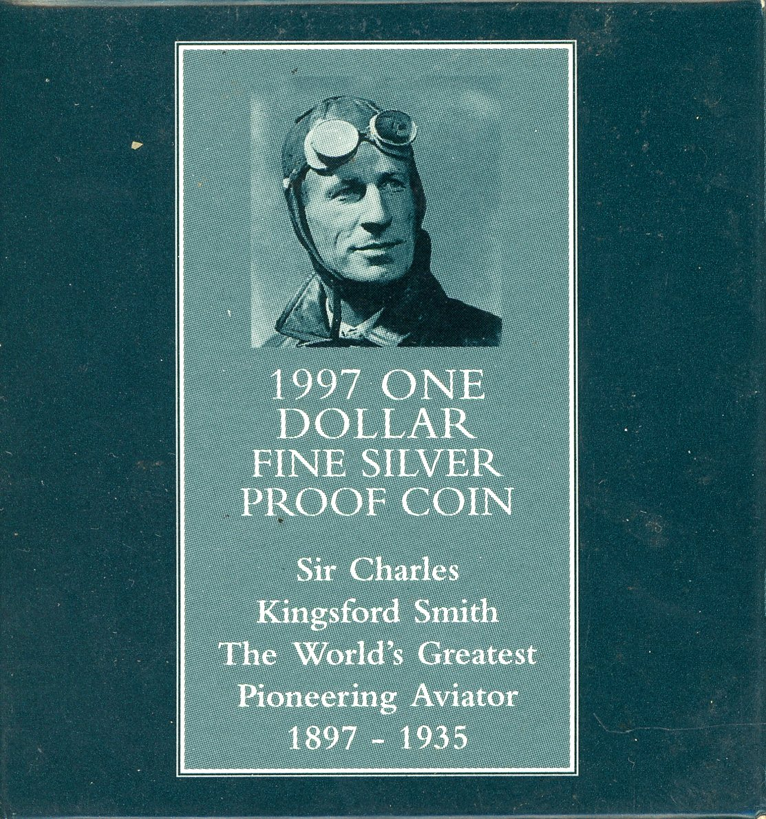 Thumbnail for 1997 One Dollar Silver Proof - Sir Charles Kingsford Smith