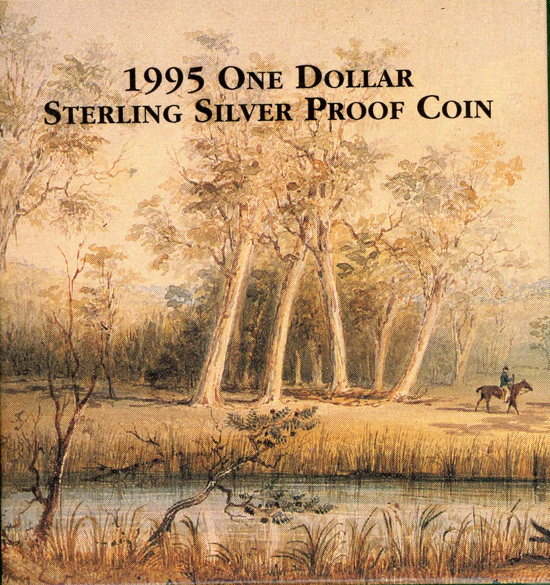 Thumbnail for 1995 One Dollar Silver Proof - Waltzing Matilda