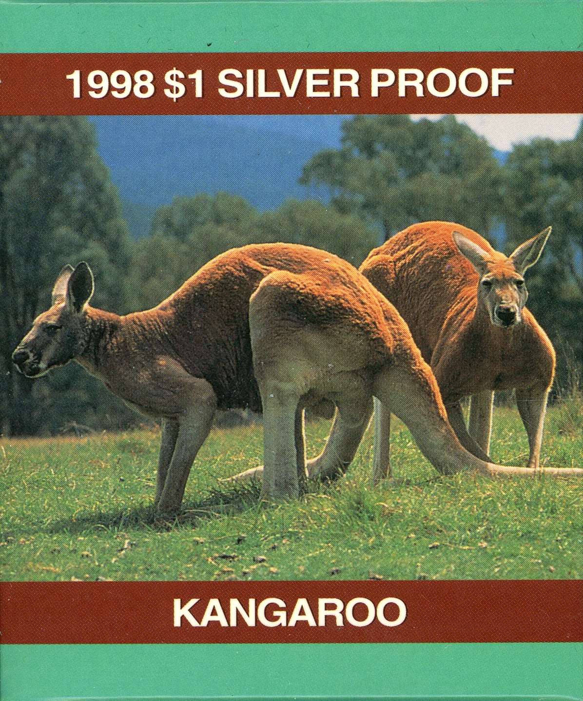 Thumbnail for 1998 $1 1oz Silver Kangaroo Proof Coin