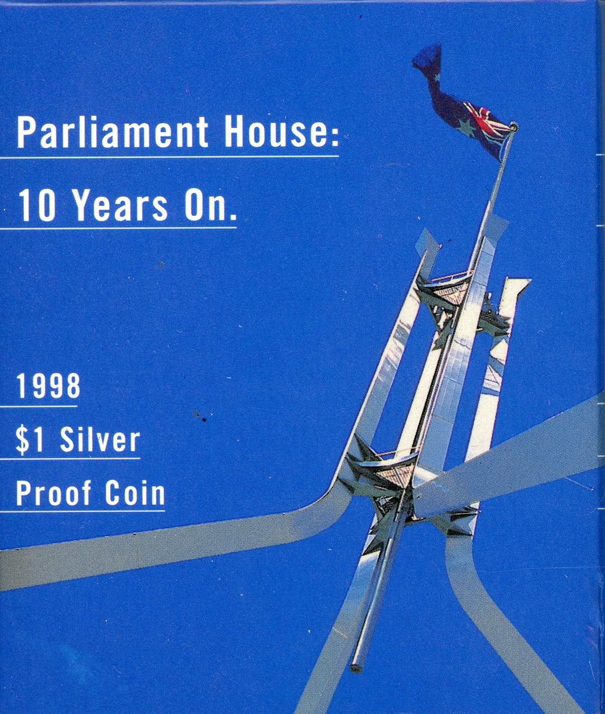 Thumbnail for 1998 Subscription Silver Proof Dollar - Parliament House Ten Years on