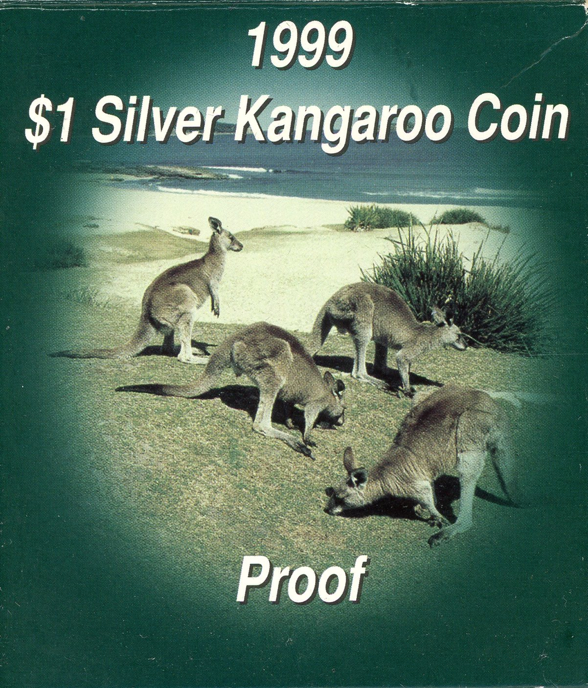 Thumbnail for 1999 $1 1oz Silver Kangaroo Proof Coin