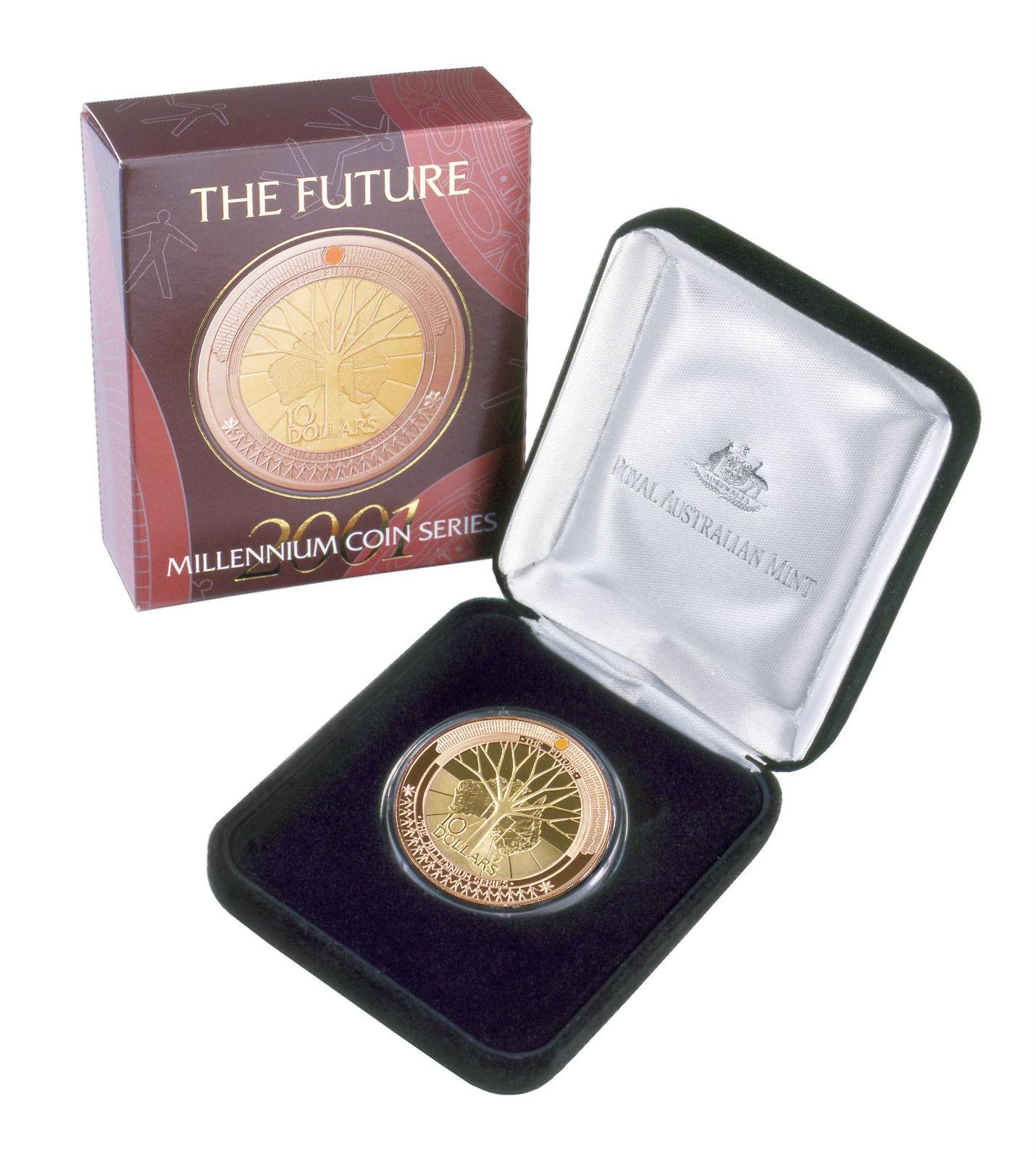Thumbnail for 2001 The Future - Millennium Coin Series