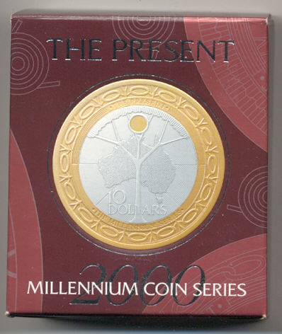 Thumbnail for 2000 The Present - Millennium Coin Series