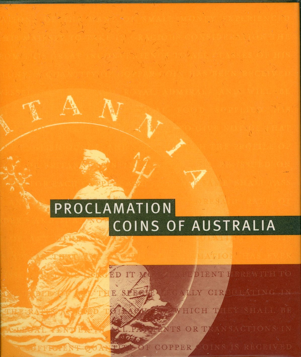 Thumbnail for 2000 Proclamation Coins of Australia - 1797 Cartwheel Penny