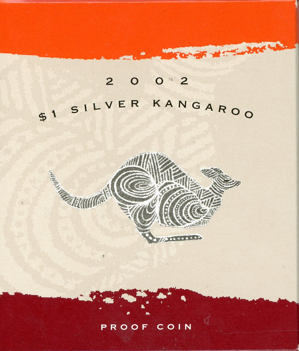 Thumbnail for 2002 1oz Silver Proof Kangaroo