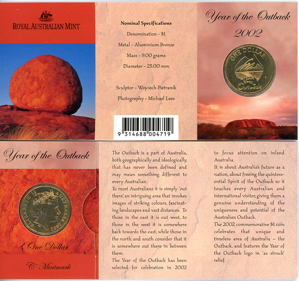 Thumbnail for 2002 Outback C Mintmark