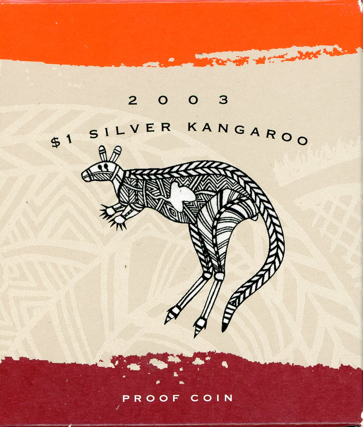 Thumbnail for 2003 1oz Silver Proof Kangaroo