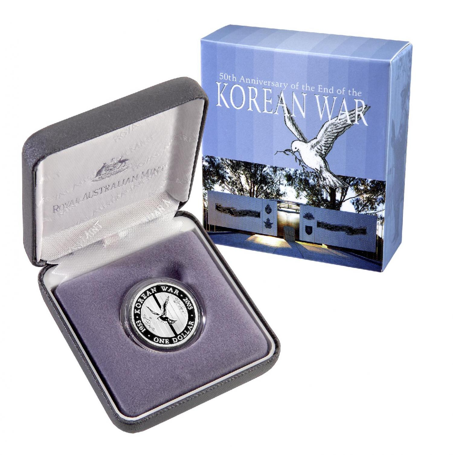 Thumbnail for 2003 Australian Silver Proof Coin - Korean War
