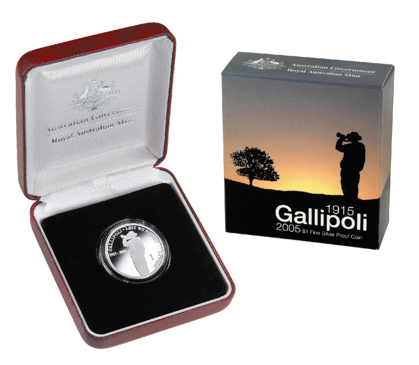 Thumbnail for 2005 Australian Silver Proof Coin - Gallipoli