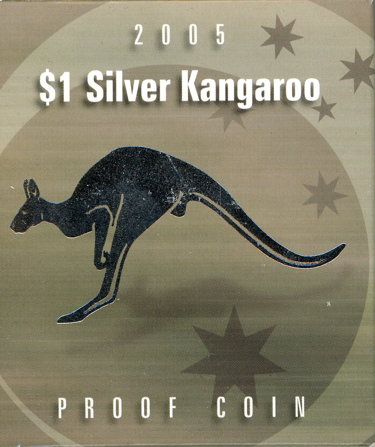 Thumbnail for 2005 $1 Silver Proof Coin - Kangaroo