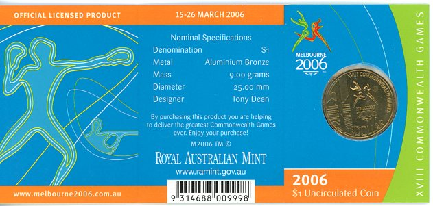 Thumbnail for 2006 Commonwealth Games - M Mintmark