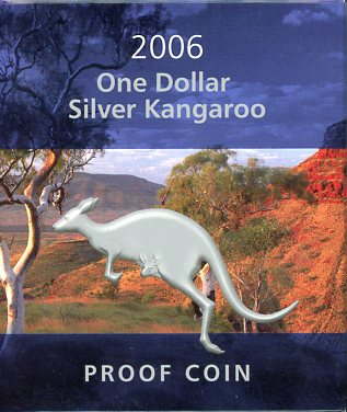 Thumbnail for 2006 1oz Silver Kangaroo Proof Coin