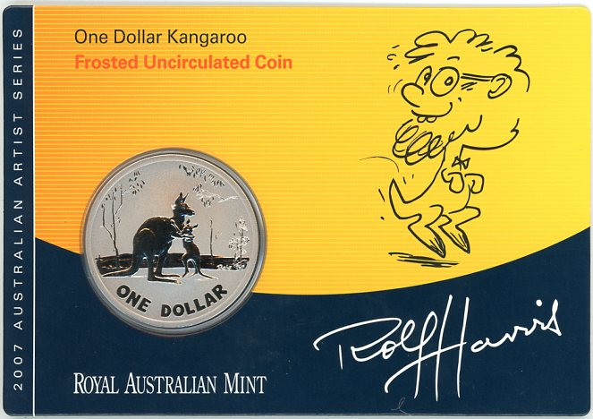 Thumbnail for 2007 Frosted Uncirculated One Dollar - Rolf Harris