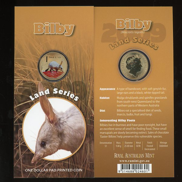 Thumbnail for 2009 - Land Series - Bilby