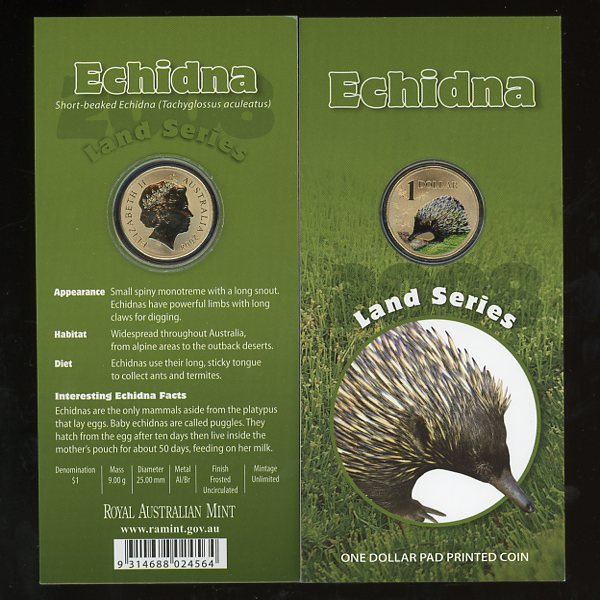 Thumbnail for 2008  - Land Series - Echnida
