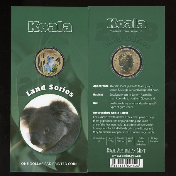 Thumbnail for 2008 - Land Series - Koala