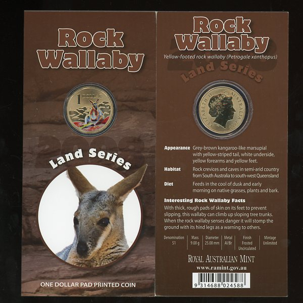Thumbnail for 2008 - Land Series - Rock Wallaby