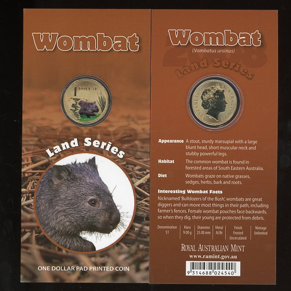 Thumbnail for 2008 - Land Series - Wombat