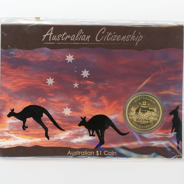 Thumbnail for 2009 Australian Citizenship One Dollar Coin