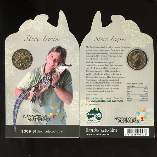 Thumbnail for 2009 Inspirational Australians - Steve Irwin