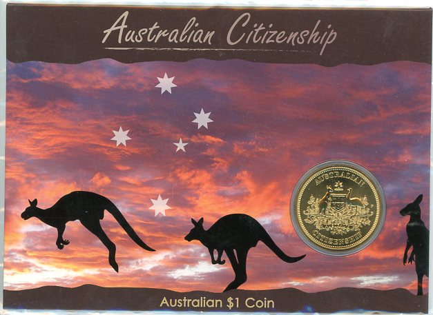 Thumbnail for 2010 Australian Citizenship One Dollar Coin