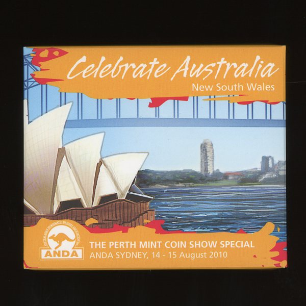 Thumbnail for 2010 Perth Mint Coin Show Special ANDA - Celebrate Australia New South Wales
