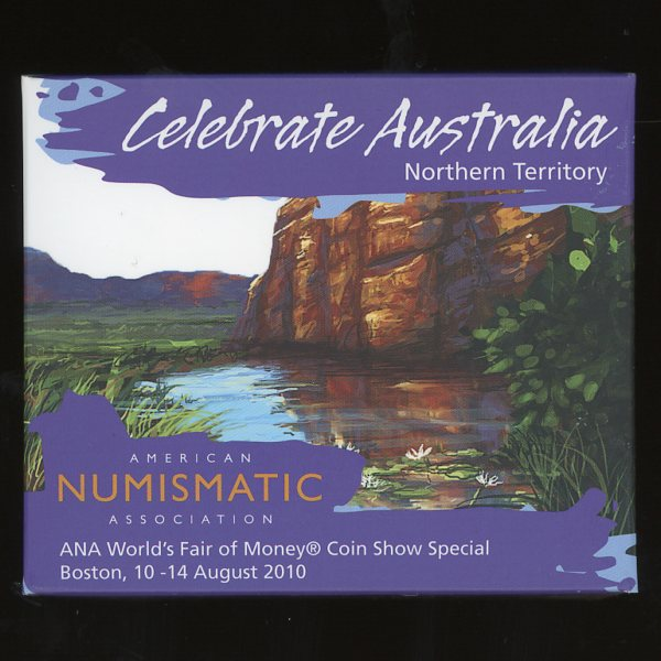 Thumbnail for 2010 Celebrate Australia Northern Territory - ANA World Fair of Money