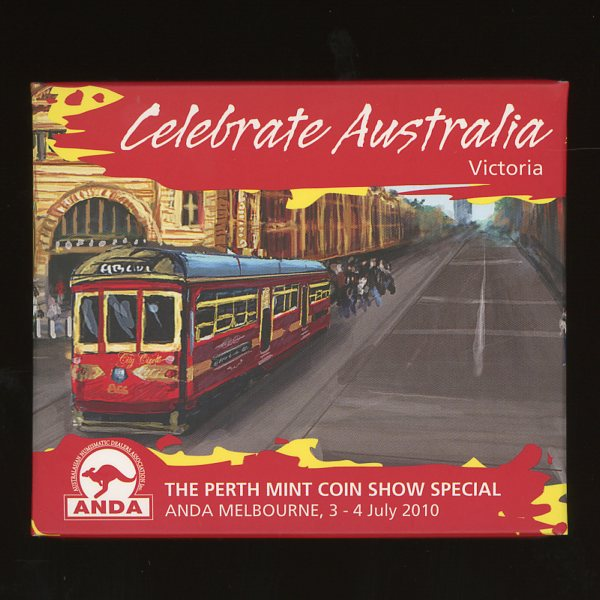 Thumbnail for 2010 Perth Mint Coin Show Special ANDA - Celebrate Australia Victoria