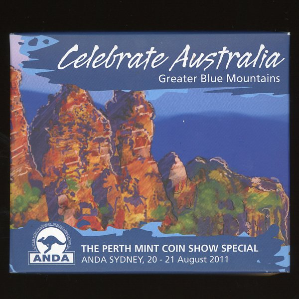 Thumbnail for 2011 Perth Mint Coin Show Special ANDA - Celebrate Australia Greater Blue Mountains