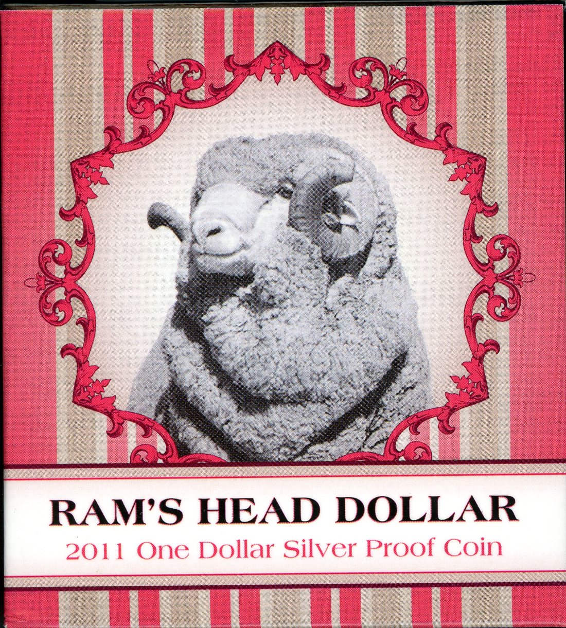 Thumbnail for 2011 $1 Silver Proof Coin - Rams Head