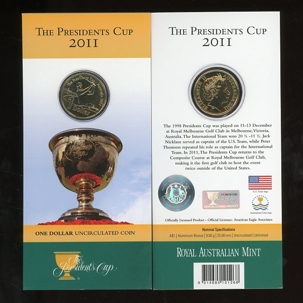 Thumbnail for 2011 The Presidents Cup