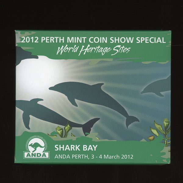 Thumbnail for 2012 Perth Mint Coin Show Special Shark Bay World Heritage Site ANDA