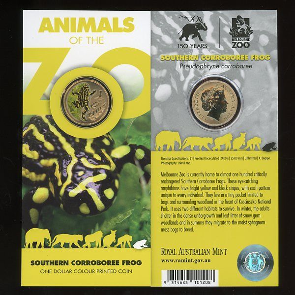 Thumbnail for 2012 Zoo Series Southern Corroboree Frog