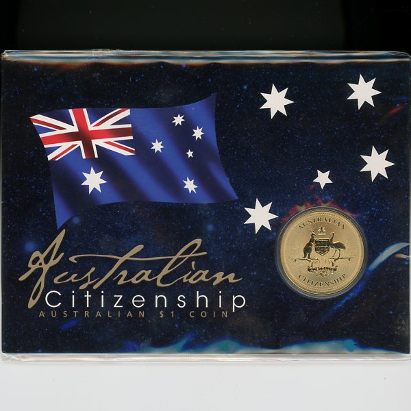 Thumbnail for 2013 Australian Citizenship One Dollar Coin