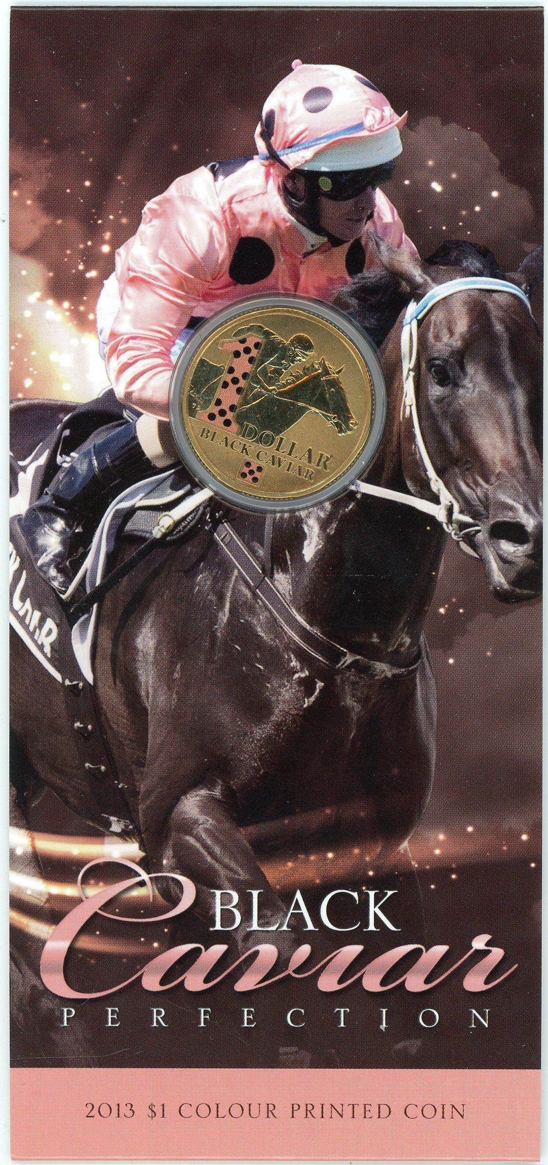 Thumbnail for 2013 Black Caviar Coloured $1.00