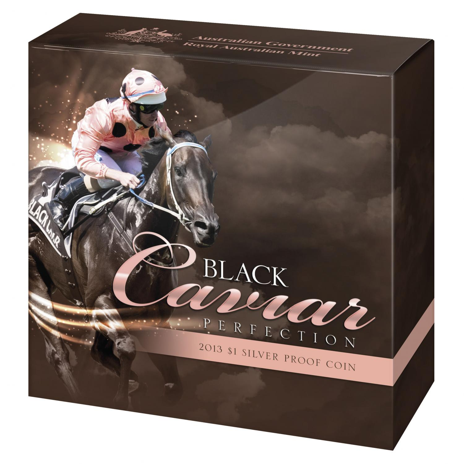 Thumbnail for 2013 Black Caviar One Dollar Silver Proof Coin