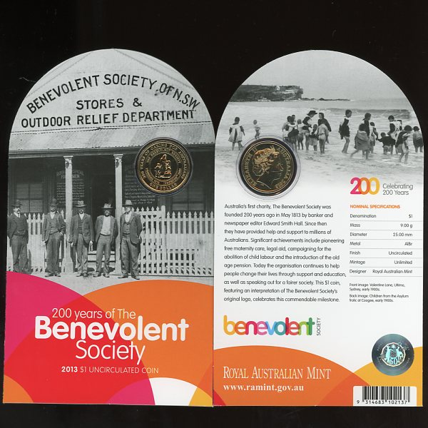 Thumbnail for 2013 - 200 Years of the Benevolent Society