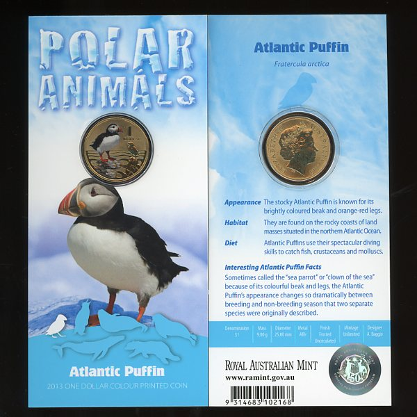 Thumbnail for 2013 Polar Series - Atlantic Puffin