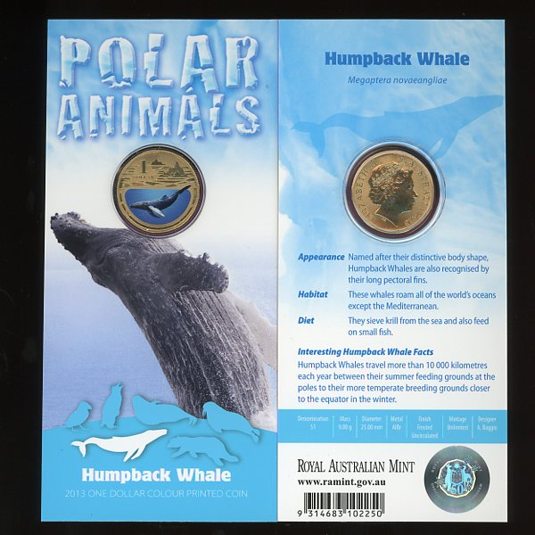 Thumbnail for 2013 Polar Series - Humpback Whale